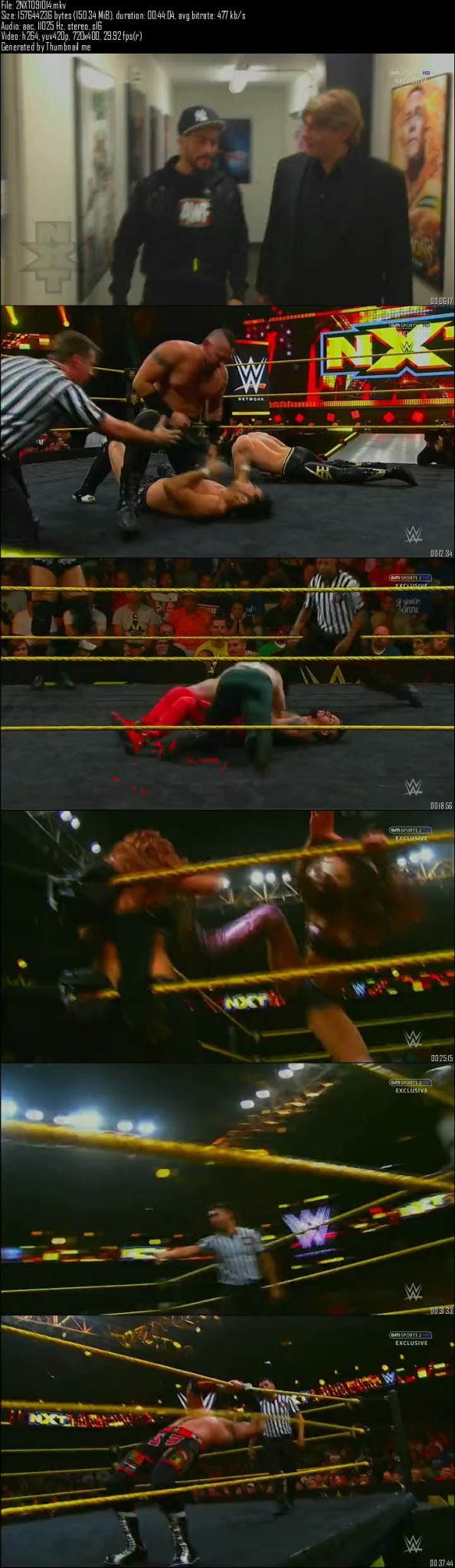 WWE NXT 9th October (2014)