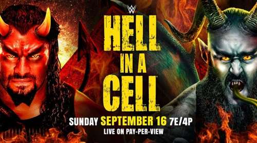 WWE Hell In A Cell 16th September 2018