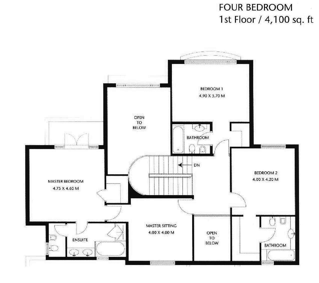 Ccove Floor Plans Palm Jumeirah Dubai