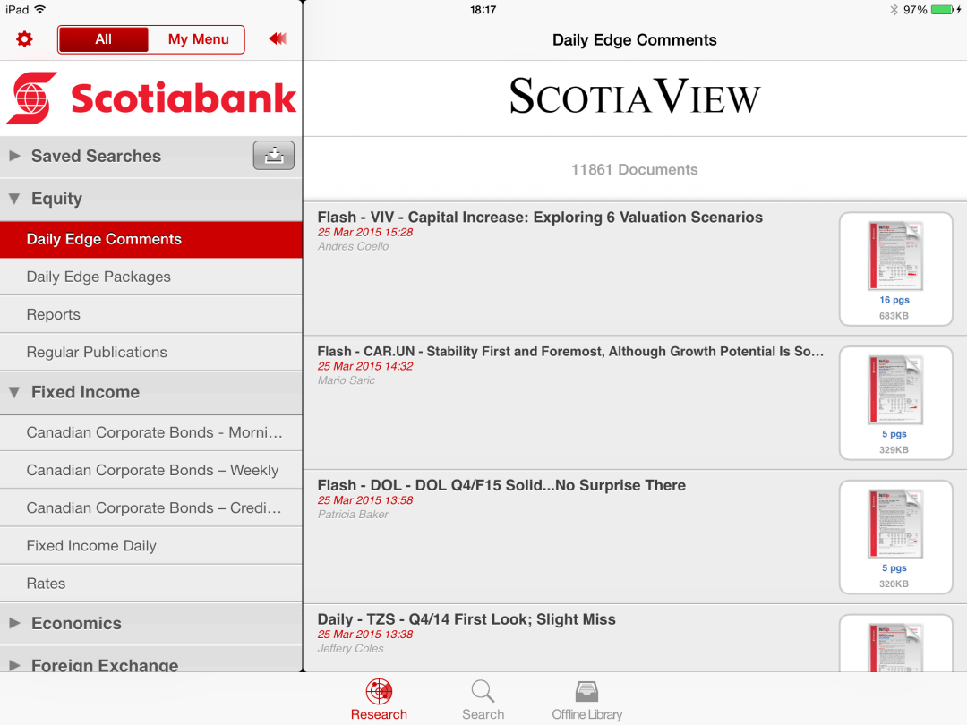 Scotiaview iPad 1