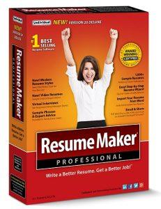 ResumeMaker Professional Deluxe 20.1.0.115