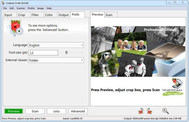 VueScan Pro 9.5.92
