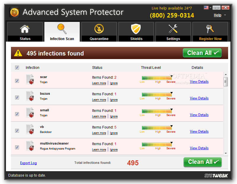 Advanced System Protector 2.3.1000.23511 crack and free download