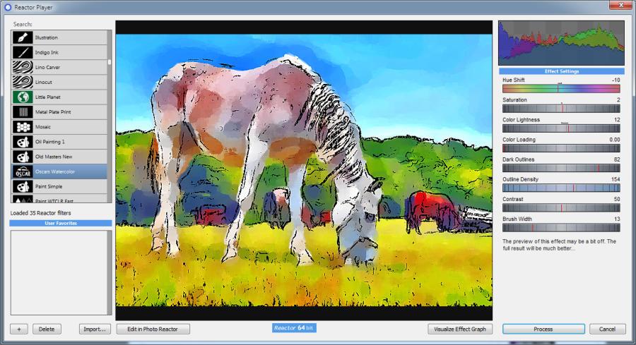Mediachance Reactor Player 1.2 for Adobe Photoshop