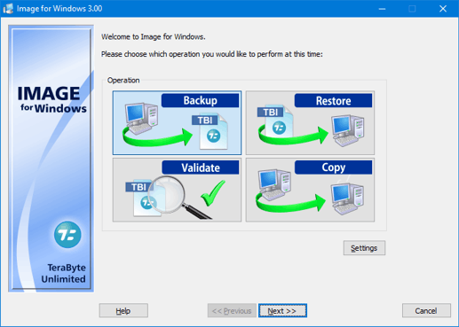 TeraByte Drive Image Backup and Restore Suite 3.14 crack
