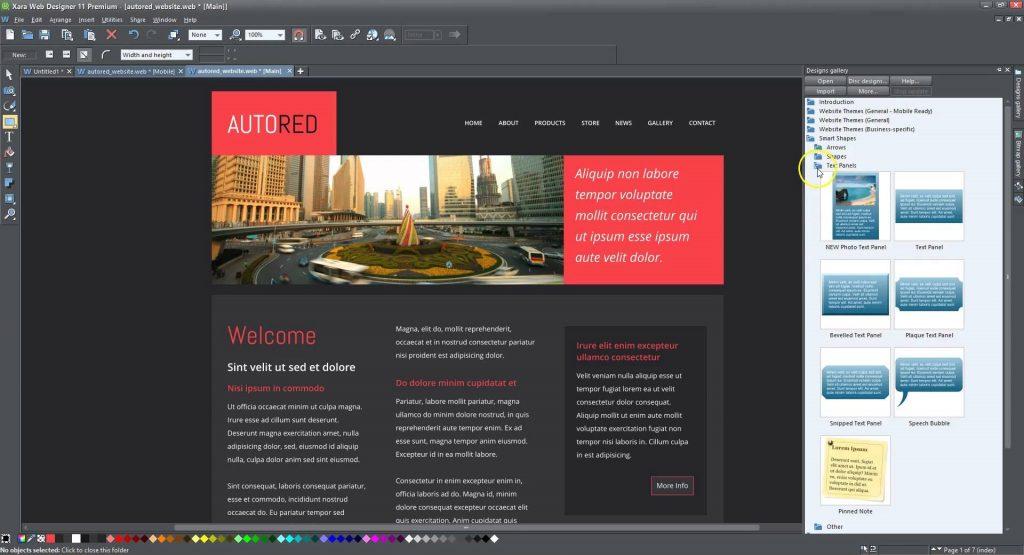 Xara Web Designer Premium 15.0.0.52288