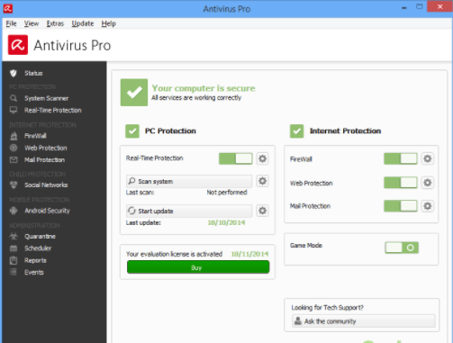 Avira Antivirus Pro 15 free download liftime crack