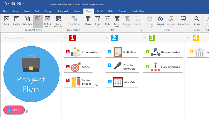 Mindjet MindManager 2018 18.1 free download