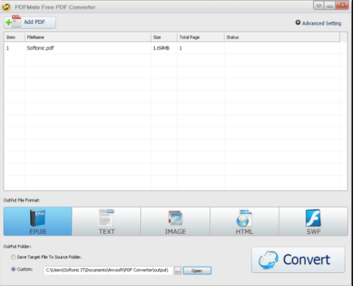 PDFMate PDF Converter Pro free download