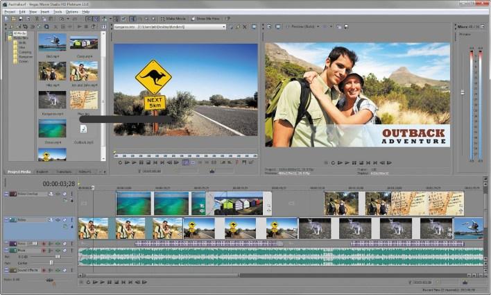MAGIX VEGAS Movie Studio Platinum 15.0.0.102