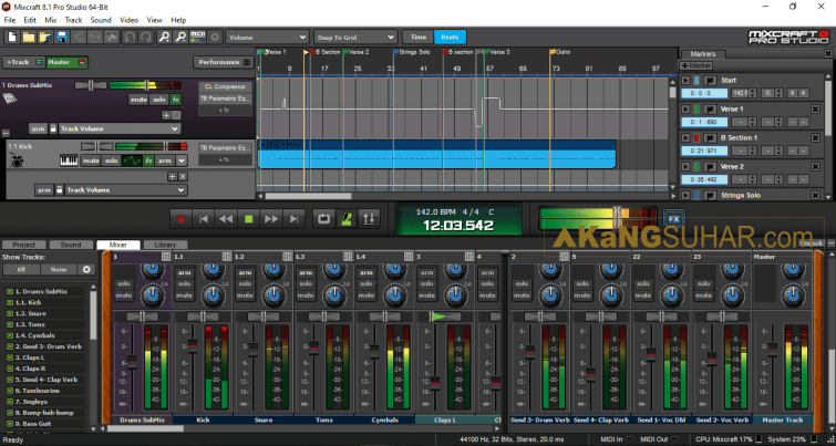 Acoustica Mixcraft Pro Studio 8.1 Build 412