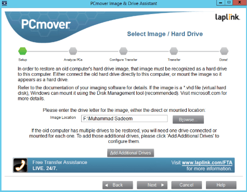 PCmover Image & Drive Assistant 11 free download