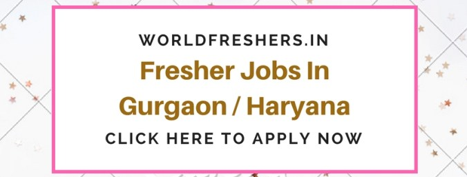 Fresher Jobs In Delhi / Gurgaon