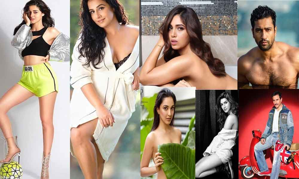 Dabboo Ratnani 2020 Calendar Hot Photoshoots Of Bollywood Actors