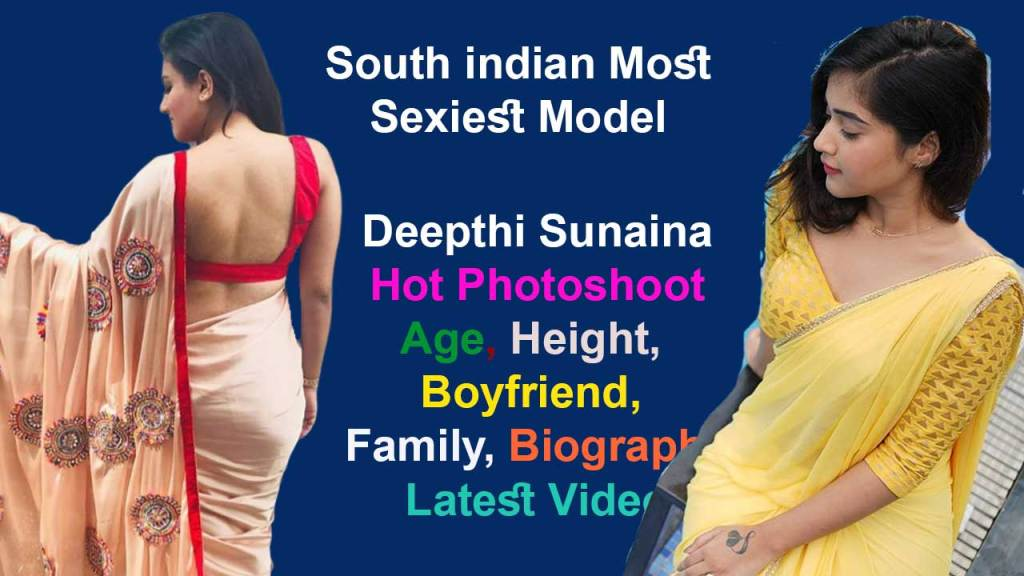 Deepthi Sunaina Bikini, Bra Size, Biography 2020, Telugu Model, Wiki, Weight, BF, News, Video