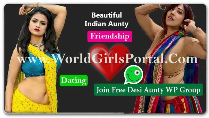 Indian Aunty whatsapp Number List 2020 for Dating, Meet Single Mallu Bhabhi with Fun