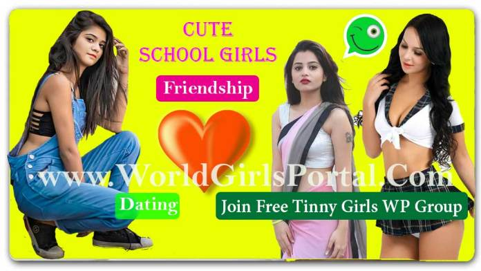 School Girls Whatsapp Number List 2020 for Friendship, Make Girlfriend - 12 to 18 Age Cute Student