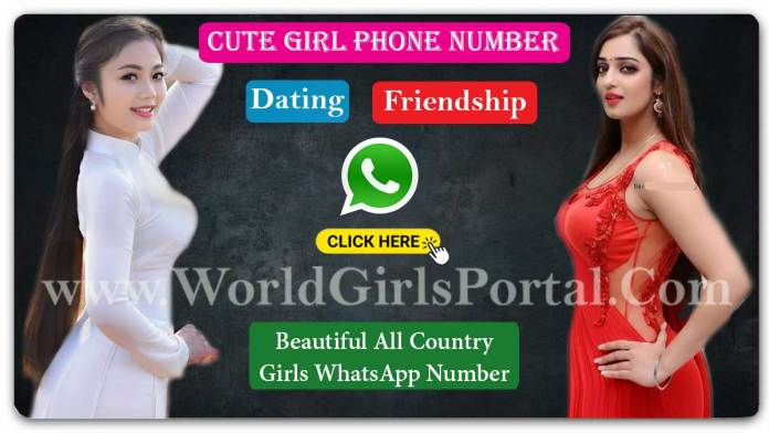 1000+ Girls WhatsApp Numbers for Friendship in World