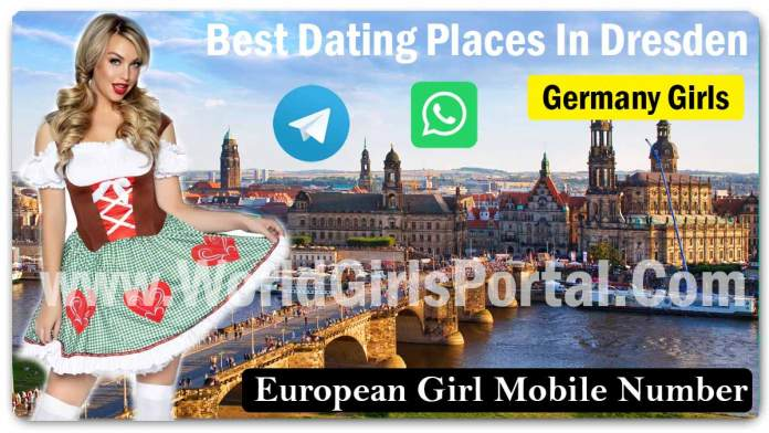 Best Dating Places In Dresden for Meet Girlfriends, Germany & Dresden's Most Romantic locations