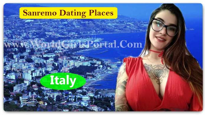Best Sanremo Dating Places for Meet Girls, Italy Romantic Places - Love Tips