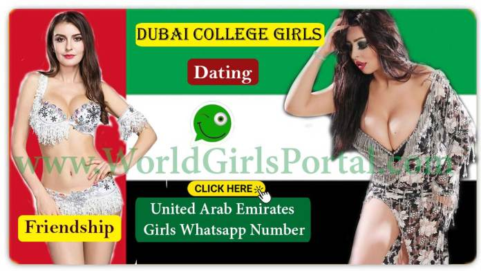 Dubai College Girls WhatsApp Numbers for Dating Friendship | UAE Girls Mobile Number