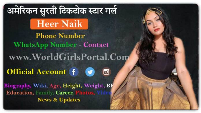 Heer Naik Contact Details for Paid Promotion Surat Model Girls WhatsApp Numbers Bio-Data World Girls Portal