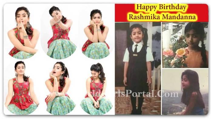 Happy Birthday Rashmika Mandanna - Upcoming Rashmika South Indian & Bollywood Film List - Indian Crush Girl - World Girls Portal