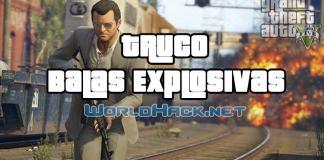 Truco Balas Explosivas GTA 5