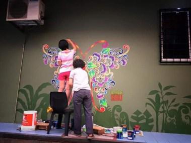 Sibu Street Art 2016-12Butterfly