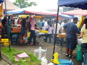 Malaysia Night Market or Pasar Malam