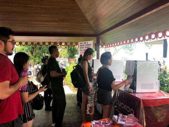 cuckoo water refill station rwmf 2019