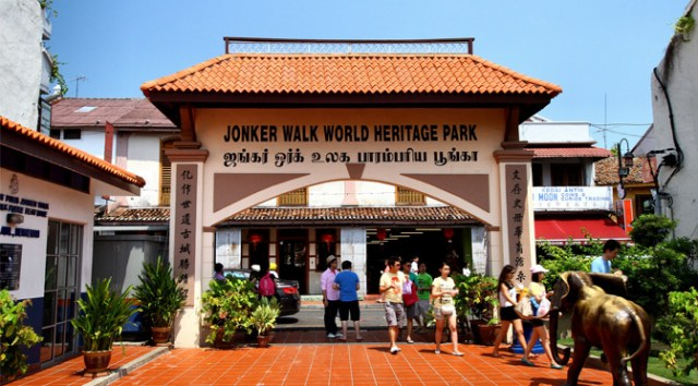 Malacca Tourist Attractions - Jonker Walk