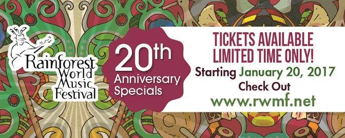 RWMF2017-20th Anniversary Special 19Jan