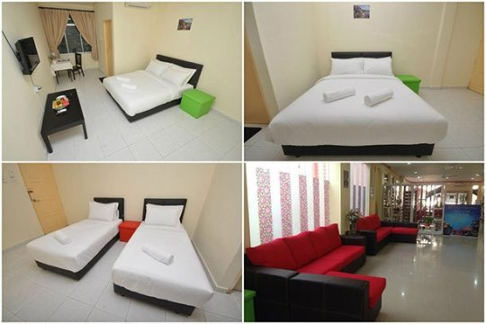 Hotel Pelangi Marang - Room Image