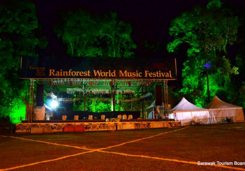 New for Rainforest World Music Festival 2014