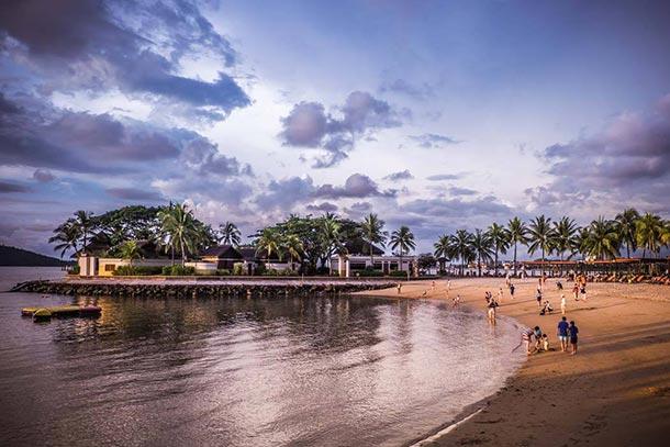 Pantai Tanjung Aru Kota Kinabalu