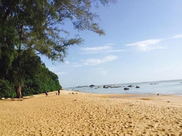 Pantai Tanjung Bidara Melaka Beach Image
