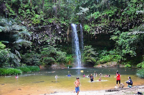 Latak Waterfall Miri Image