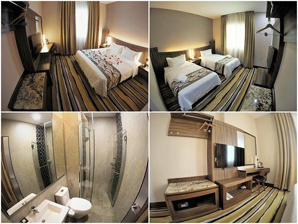 Nova Hotel Miri - Room Image