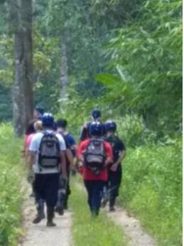 Kuching Caving-Broken jar1
