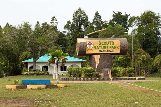 scout nature park sandakan