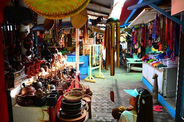 Pasar Seni Segigi Lombok
