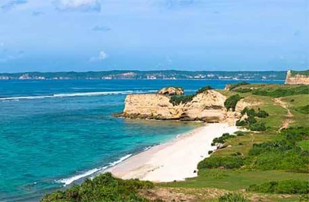 pantai surga lombok