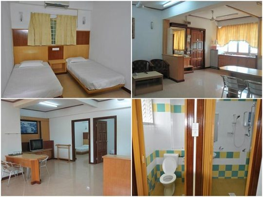 Wisma Pantai Apartment - Room Image