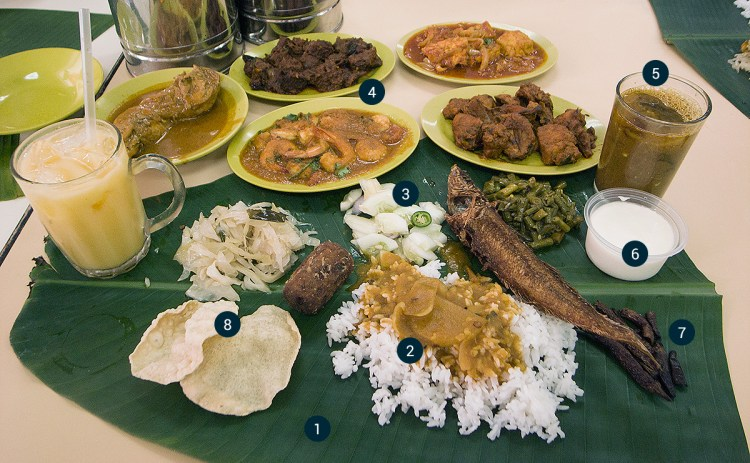 banana_leaf_rice_dishes