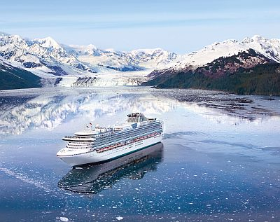 A Princess Cruises boat in Alaska. The association will work from Singapore subsequent yearto yield short-haul convenience trips
