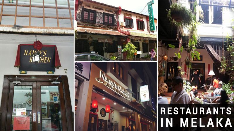 restaurants in melaka