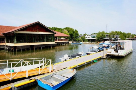 Jeti Sungai Semeling - Image