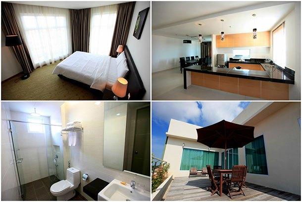 Merdeka Suites Hotel Miri - Room Image