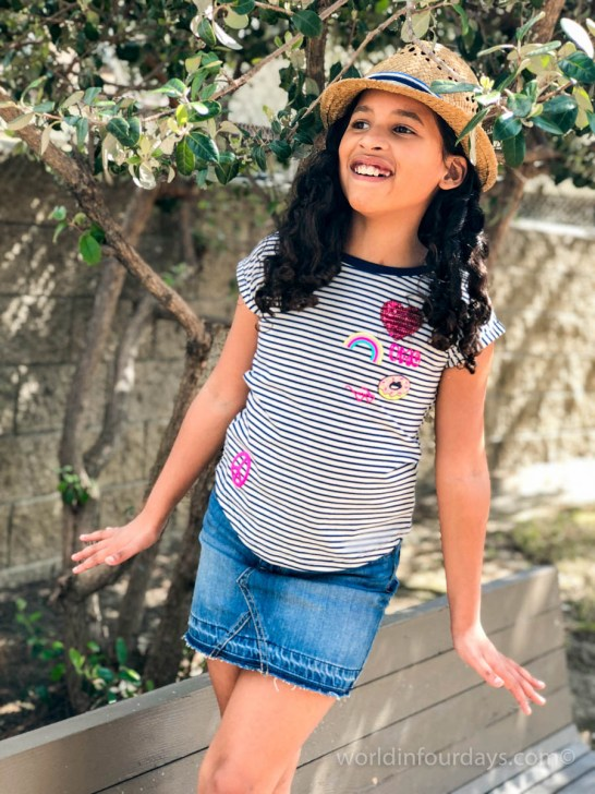 Super cute spring time fashion for girls | tween fashion | Kids Fashion | Kids OOTD | OshKosh